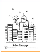 robot-rampage-coloring-page