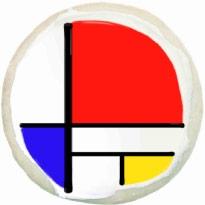 Mondrian Cookie