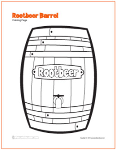rootbeer-barrel-coloring-page